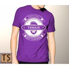 Top 10 Tismy Store Kaos Semua Pria Diciptakan Setara Tapi Yang Terbaik Lahir Di Bulan September 2 Pc2 Ungu Online