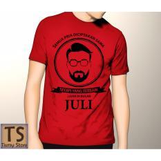 Toko Tismy Store Kaos Semua Pria Diciptakan Setara Tetapi Yang Terbaik Lahir Di Bulan Juli 3 Pc1 Merah Tismy Store Di Banten