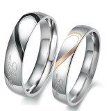 Jual Titanium Cincin Couple Love Matching Ring Silver Titanium Grosir
