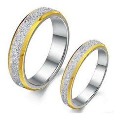 Titanium Cincin Couple / Tunangan / Kawin CR027