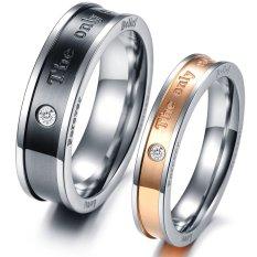 Titanium Cincin Pasangan Gs262 Diskon Akhir Tahun