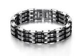 Harga Titanium Gelang Tangan Black Bracellet Lengkap