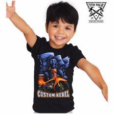 Titik Balik Kaos Anak Motor C70 Custom Rebel