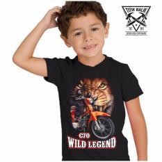 Titik Balik Kaos Motor C70 Wild Legend