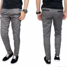Beli Tj Celana Panjang Cino Grey Pake Kartu Kredit