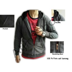 Top 10 Tjincollection Jaket Pria Casual Trendy Abu Abu Online
