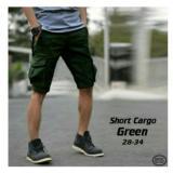 Spesifikasi Celana Pendek Cargo Premium Hijau