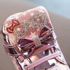 Balita Bayi Fashion Sneakers Star Luminous Anak Casual Sepatu Lampu Penuh Warna Intl Terbaru