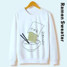 TOF Sweater Wanita Sweater Cewek Sweater Murah RAMEN SWEATER