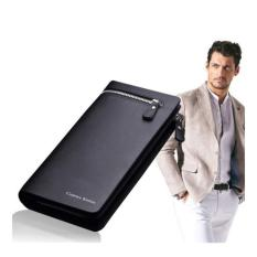 Beli Toko49 Dompet Kulit Pria Model Panjang Leather Mens Wallet Impor Mewah Online Terpercaya