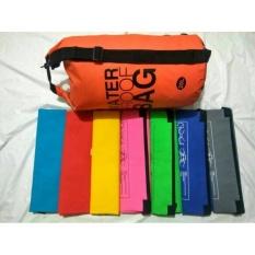 Harga Toko49 Dry Bag 20 Liter Tas Lipat Panjang Pendek Travel Gym Anti Air Orange Baru Murah