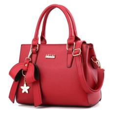Kualitas Toko49 Tas Import Tas Fashion Tas Wanita Tas Kerja Trendy Warna Merah Toko49