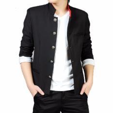 Tom Browne- Setelan Blazer Crows Zero - Blazer Casual Japan Style- Blazer Streetwear (Blazer+Celana) - Black