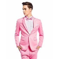 Beli Tom Browne Jas Pria Fashionable Style Jas Pesta Sweet Moment Jas Pria New Arrival Jas Pria New Mode Light Pink Di Indonesia