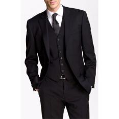 Tom Browne - Jas Formal Pria Best Quality / Jas Formal Maskuline - Black
