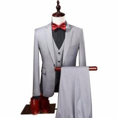 Jual Tom Browne Setelan Jas Formal Wedding Party With Vest Trendy And Glamour Jas Celana Vest Grey Murah Di Indonesia