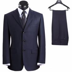 Harga Tom Browne Setelan Jas Pria Business Man Comfortable Jas Celana High Quality Black Lengkap