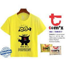 Spesifikasi Tom Z T Shirt Yellow One In Minion Yg Baik