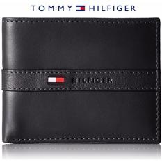 Spesifikasi Tommy Hilfiger Pria Ranger Leather Passcase Wallet With Removable Kartu Case Kotak Hadiah Hitam Terbaik