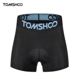 Beli Tomshoo Pria 3D Padded Bicycle Cycling Underwear Bernapas Ringan Naik Bersepeda Sepeda Celana Pendek Celana Intl Hong Kong Sar Tiongkok
