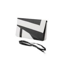 Toko Tingkat Teratas Oem Pola Geometris Hitam Putih Snakeskin Wanita Clutch Evening Bag Envelope Case Intl Oem