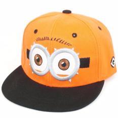 Spesifikasi Topi Anak Minion Kids Cap Orange Yg Baik