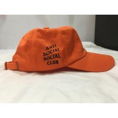 Topi ASSC Anti Social Social Club oren orange Ori with Receipt