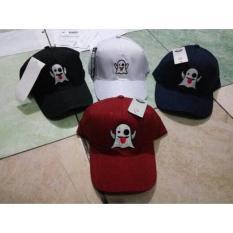 Topi Baseball Bordir Snapchat / Topi Tumblr Hat / Topi Bordir Premium - 3Dc565