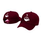 Harga Topi Baseball Coffe Lover White Maroon Premium Brother Store