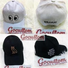 Topi Baseball Custom   Topi Tumblr Custom Bordir 2 Sisi Satuan Grosir –  773Dde. Barang ini di jual ... 7fd505ff20