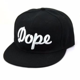 AIUEO Topi Pria Wanita Baseball Korea Fashion Unisex Hip-Hop Style Lovers Adjustable Snapback Cotton