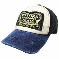 Topi Baseball Snapback Motors Racing Team - Blue