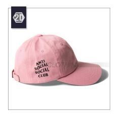 Topi Distro Anti Social Social Club Pink