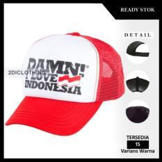 Topi Distro Damn I Love Indonesia 01