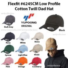 Topi Flexfit Low Profile Cotton Twill Dad Hat 6245Cm Ori - Qlhr3b