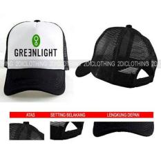 Topi Greenlight / Trucker Greenlight / Snapback Greenlight
