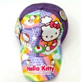 Jual Topi Hello Kitty Chef Purple Lokal Brand Branded