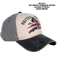 Katalog Topi Import Pria Topi Mahasiswa Topi Usa Topi Kingdom English Terbaru