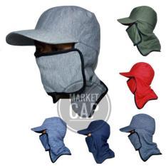 Topi Jepang Masker Samping I Topi Mancing I Topi Gunung I Topi Lapangan I Topi Tani I Topi Berkebun I Topi Cadar I Anti Panas