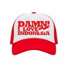 TOPI KEREN Damn I Love Indonesia - BHL 35