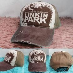 Topi Linkin Park - Denim High Quality - Minutes to Midnight - Import Linkin Park Hat - Harga Grosir - Bisa Bayar ditempat - Cash on delivery