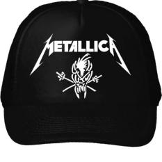 Beli Topi Metallica Hitam Online Jawa Barat