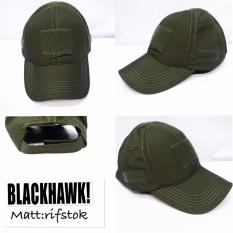 Topi Murah Pria Polos Simple Army / Military Rifstok-Hijau Best Seller
