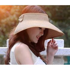 Perbandingan Harga Topi Pantai Topi Anti Uv Topi Fashion Wanita Import Murah Topi Trandy Di Dki Jakarta