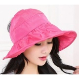 Review Topi Pantai Wanita Anti Uv Rose Terbaru