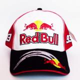 Diskon Topi Racing 93 Bull Red White