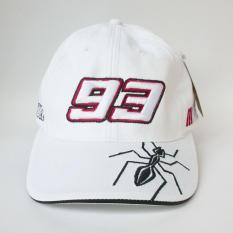 Topi Racing 93 White Ant