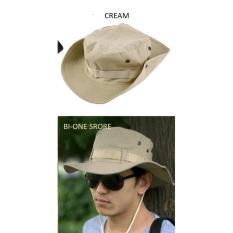 Spesifikasi Topi Rimba Topi Gunung Cream Lengkap