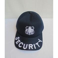 Topi Security ~ Bordir Besar - Bev3hx