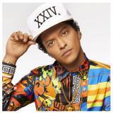 Katalog Topi Snapback Bruno Mars 24K White Snapback Terbaru